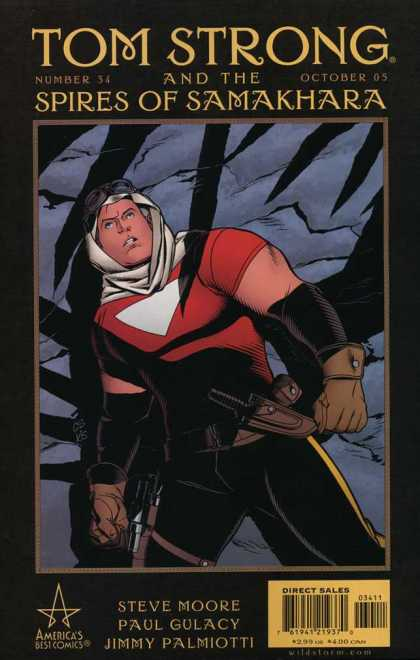 Tom Strong 34 - Intrigue - Danger - Heroes - Villians - Fights - Chris Sprouse