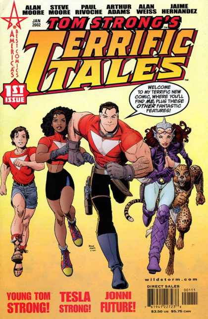 Tom Strong's Terrific Tales 1 - Arthur Adams