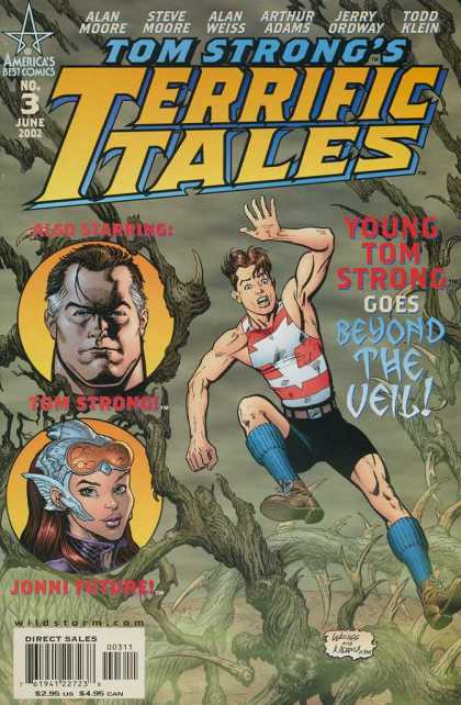 Tom Strong's Terrific Tales 3 - Young Tom Strng Goes Beyond The Veil - Alan Moore - Steve Moore - Alan Weiss - Arthur Adams