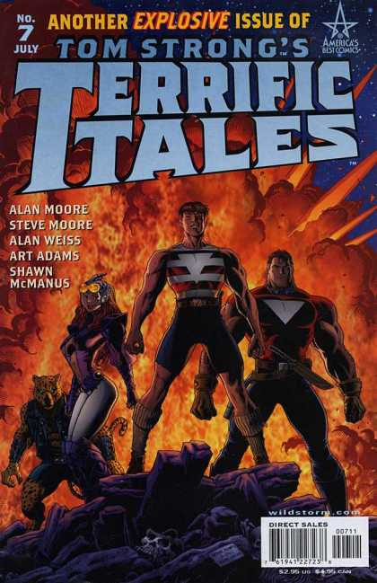 Tom Strong's Terrific Tales 7 - No 7 - July - Another Explosive - Alan Moore - Steve Moore - Arthur Adams