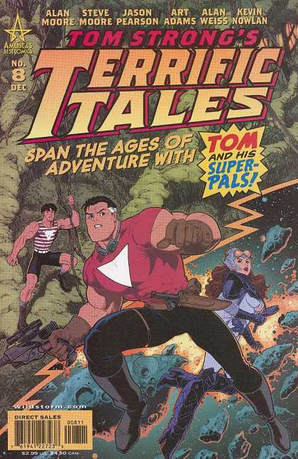 Tom Strong's Terrific Tales 8 - Alam Moore - Steve Moore - Jason Pearson - Art Adams - Alan Weiss - Arthur Adams