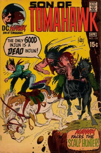 Tomahawk 133 - Son Of Tomahawk - Dead Injun - Dc Hawk - Scalp Hunter - Horses - Joe Kubert