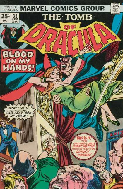 Tomb of Dracula 33 - Blood On My Hands - Vampire - First Battle - Quincy Harker - Kidnapped