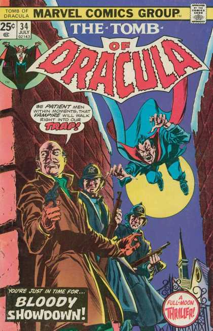 Tomb of Dracula 34 - Marvel - Dracula - Thriller - Vampire - Bloody