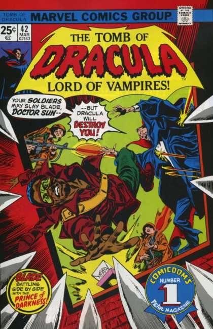 Tomb of Dracula 42 - Blood - Vampires - Castle - Soldiers - Guns