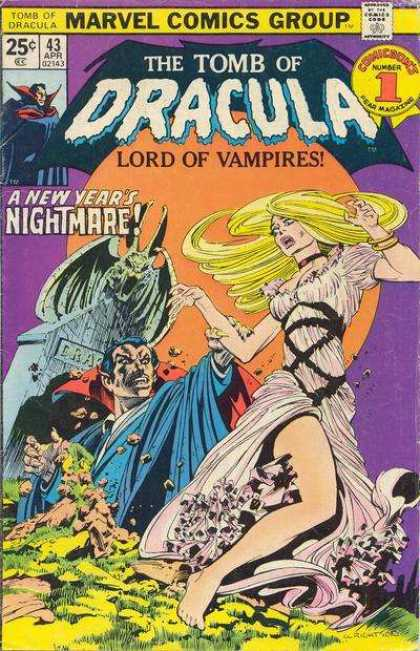 Tomb of Dracula 43 - Marvel Comics - Nightmare - Woman - Horror - Grave - Bernie Wrightson