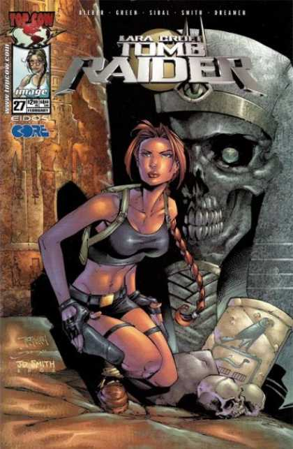 Tomb Raider 27 - Lara Croft - Video Game - Top Cow - Image - Treasure Hunter