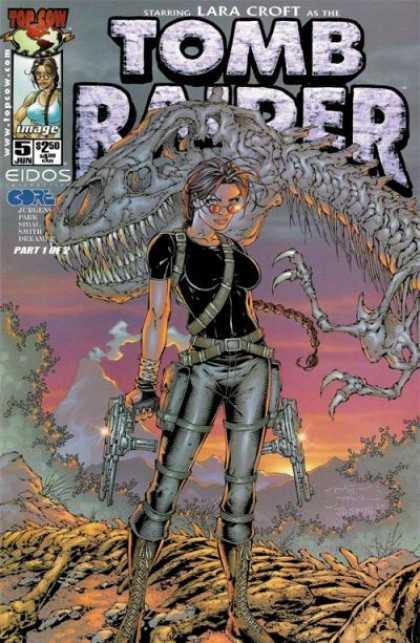Tomb Raider 5 - Lara Croft - Top Cow - Part 1 Of 2 - Eidos - Guns