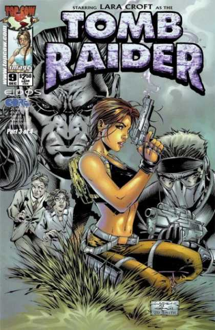 Tomb Raider 9 - Top Cow - Lara Croft - Eidos Core - Tomb Raider - Riffel