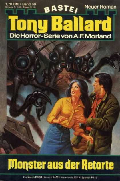 Tony Ballard - Monster aus der Retorte