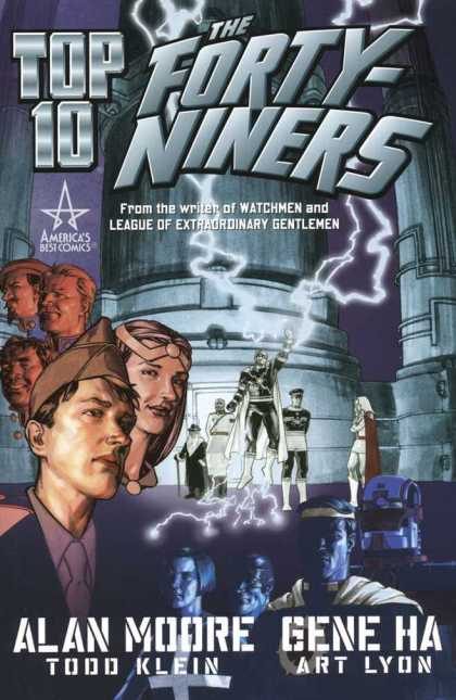 Top 10: The Forty-Niners 1 - From The Writer Of Watchmen - League Of Extraordinary Gentlemen - Americas Best Comics - Alan - Moore