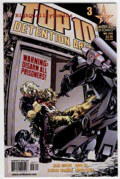 Top 10 3 - Detention Area - Robot - Costume - Battle - Death - Gene Ha, Zander Cannon