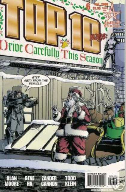 Top 10 6 - Santa Claus - Rain Deer - Hold-up - Roof Top - Guns - Gene Ha, Zander Cannon
