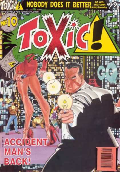 Toxic 10 - Accident Man - No 10 - Not Suitable For Young Children - Gq - Sludge