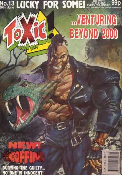 Toxic 13 - Lucky For Some - Venturing Beyond 2000 - New - Coffin - Mutant