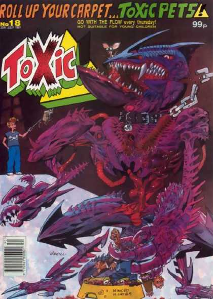 Toxic 18 - Toxic Pets - Roll Up - Carpet - Purple - Chain