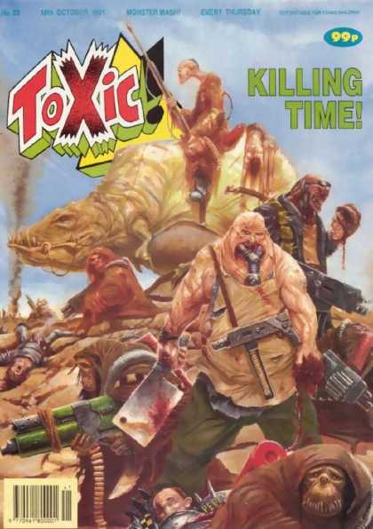 Toxic 29 - Killing Time - Monster Mash - Guns - Weapons - Animal
