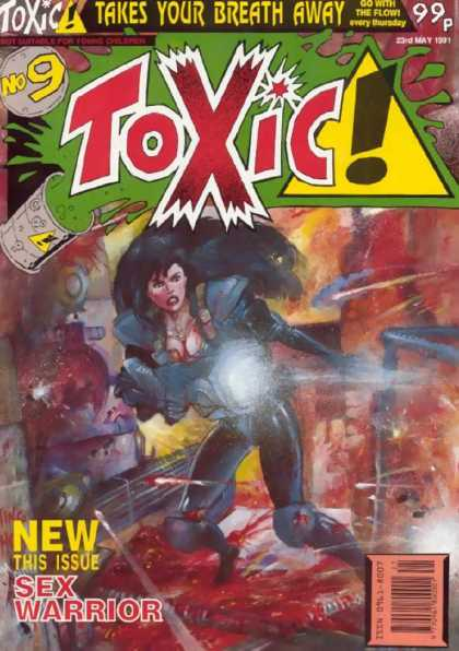 Toxic 9 - Takes Your Breath Away - Go With The Flow - Sex Warrior - Woman - Blood