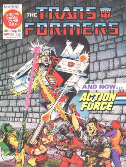 Transformers (UK) 125 - Fighting Robots - Army Fighters - Gi Joe - Guns With Blasts - Big Robot