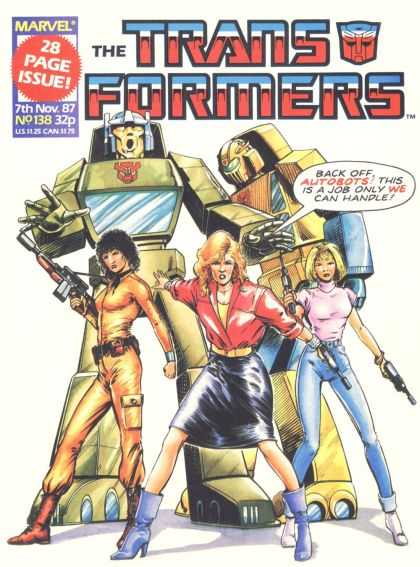 Transformers (UK) 138 - Transformers - Autobots - Women - Guns - Black Skirt
