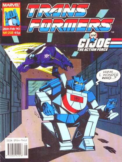 Transformers (UK) 258 - Transformers - Gijoe - Gijoe The Action Force - Action - Science Fiction