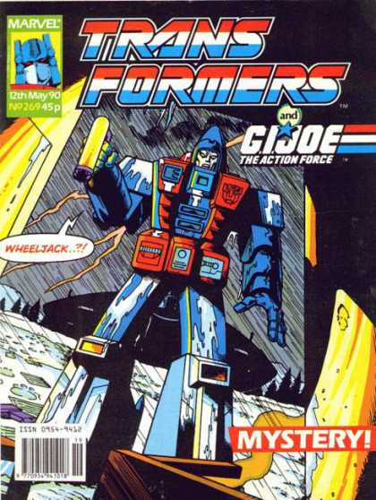 Transformers (UK) 269 - G I Joe - Wheeljack - Mystery - Lightning - Force
