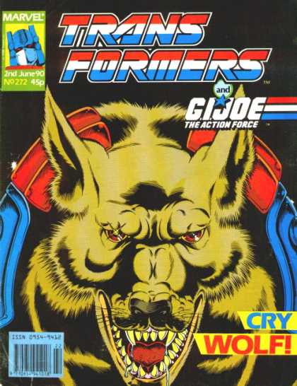 Transformers (UK) 272 - Yellow Wolf - Gi Joe - Cry Wolf - Marvel - No 272