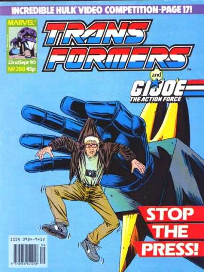 Transformers (UK) 288 - Transformers - Gi Joe - Marvel - Robots - The Action Force