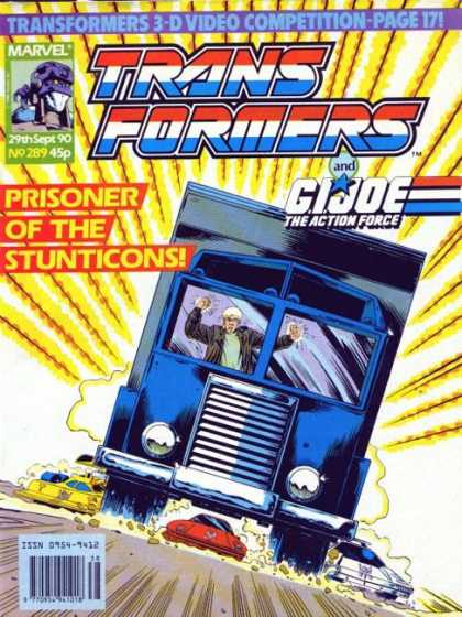 Transformers (UK) 289 - Prisoner Of Hte Stunticons - Bus - Gijoe - The Action Force - 3d Video Competition-page171