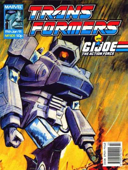 Transformers (UK) 305 - Action Force - Exciting