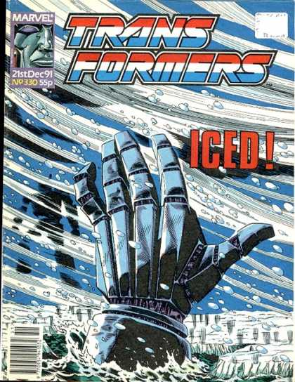 Transformers (UK) 330 - Glove - Snow - Ice - Water - Silhouette
