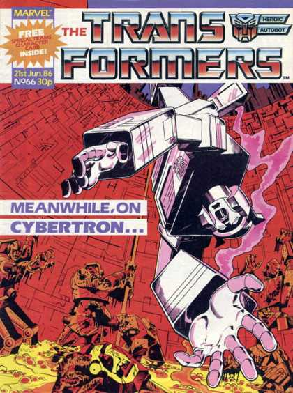 Transformers (UK) 66 - Robots In Disguise - Vechicled Robots - Cartoons Of The 80s - Cybertron - Good Vs Evil