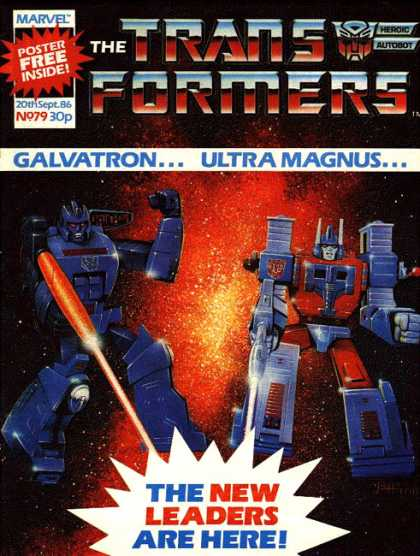Transformers (UK) 79 - Galvatron - Ultra Magnus - New Leaders - Laser - Triumph