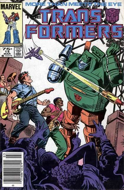 Transformers 14 - Marvel - 75c - 14 Mar - More Than Meets The Eye - 7148602379