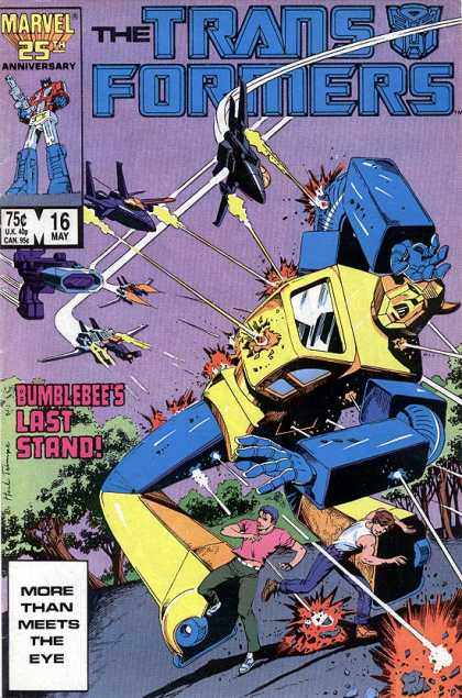 Transformers 16 - 16 May - Bumblebees Last Stand - Fighter Planes - Bumblebee - Tree