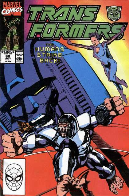 Transformers 68 - Marvel Comics - The - Humans - Strike - Back