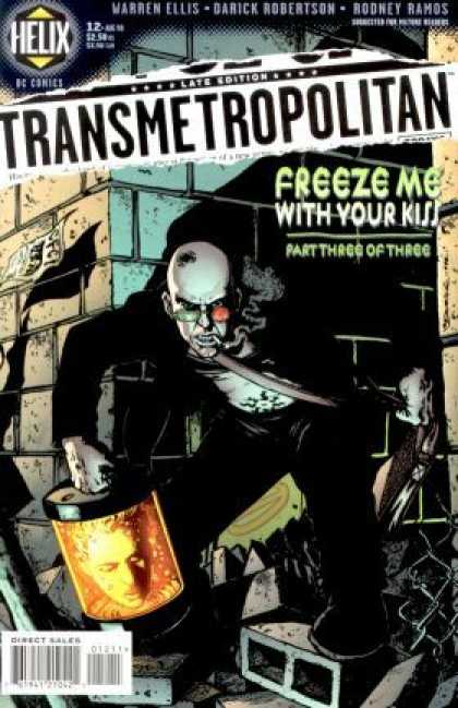 Transmetropolitan 12 - Freeze - Bald - Villain - Man - Black - Darick Robertson