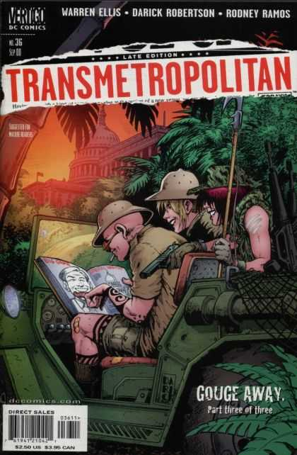Transmetropolitan 36 - Warren Ellis - Darick Robertson - Rodney Ramos - Jeep - Gouge Away Part Three Of Three - Darick Robertson