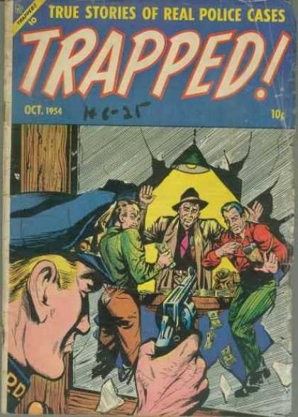 Trapped 1 - True Stories Of Real Police Cases - Gun - Man - Gangster - Cop