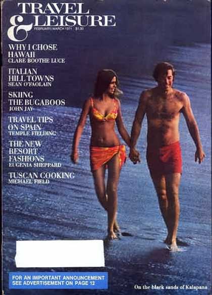 Travel & Leisure - February 1971