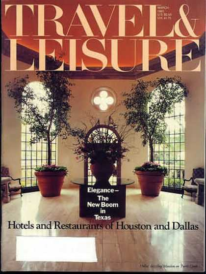 Travel & Leisure - March 1983