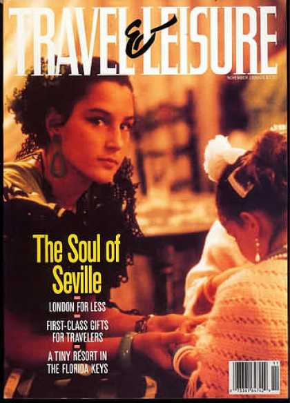 Travel & Leisure - November 1990