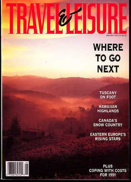 Travel & Leisure - January 1991