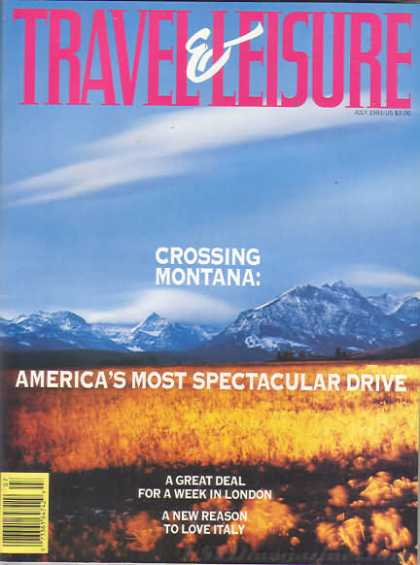Travel & Leisure - July 1991
