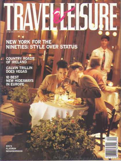 Travel & Leisure - September 1991