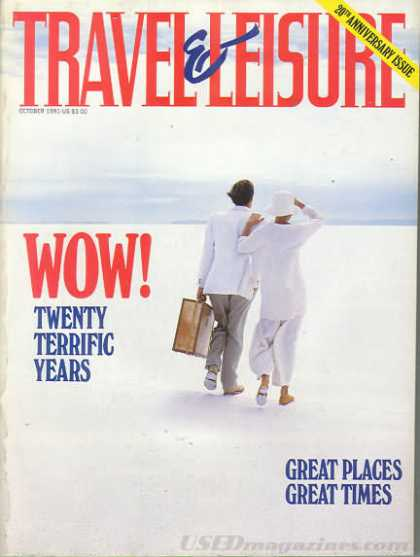 Travel & Leisure - October 1991