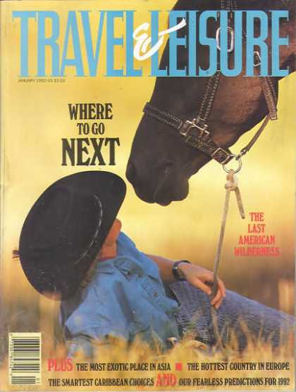 Travel & Leisure - January 1992