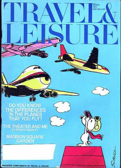 Travel & Leisure - March 1975