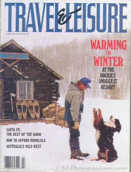 Travel & Leisure - February 1992