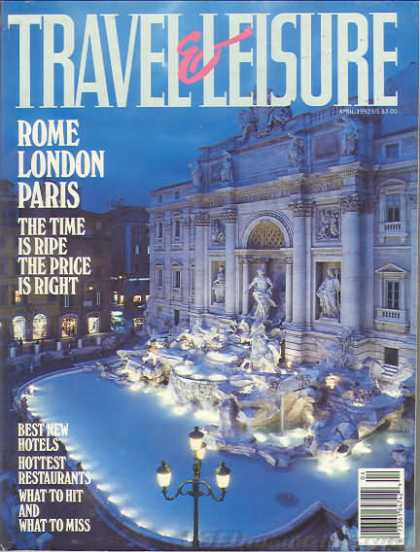 Travel & Leisure - April 1992